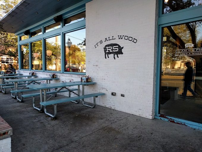 Rodney Scott's BBQ Outdoor seating
