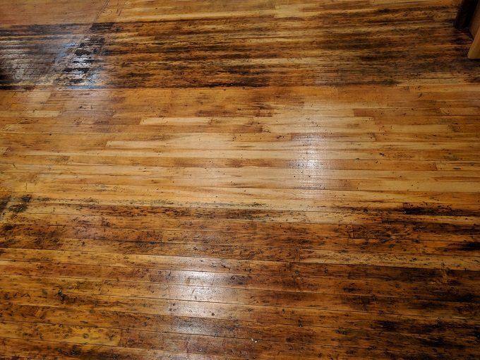 South Carolina State Museum's original flooring