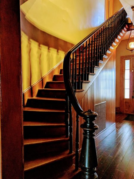 Staircase in the Woodrow Wilson Family Home