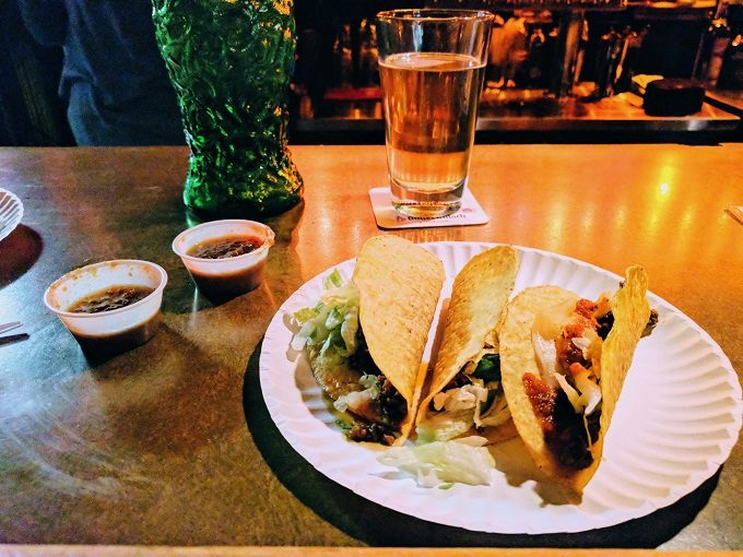 Taco Tuesday at The Whig
