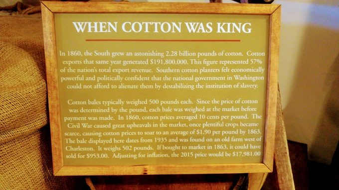 That's some expensive cotton