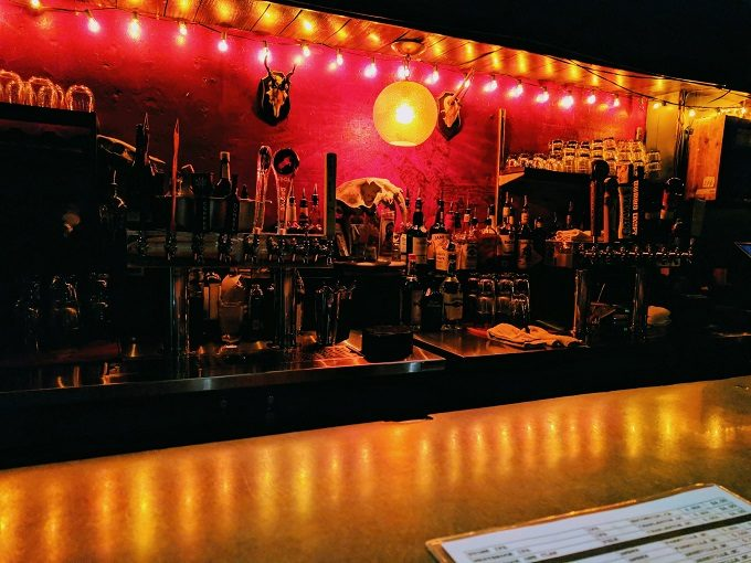 The Whig's bar
