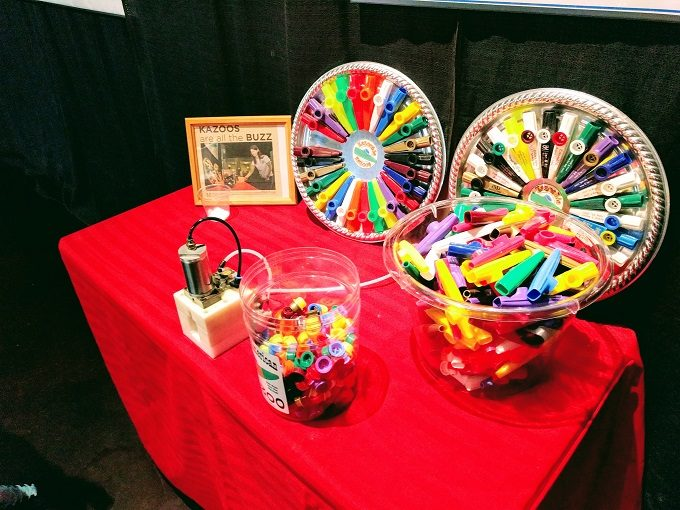 The build your own kazoo station