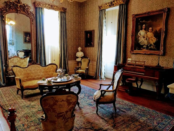 West parlor room