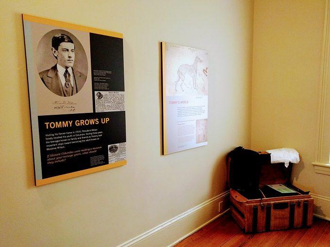 Woodrow Wilson's childhood bedroom