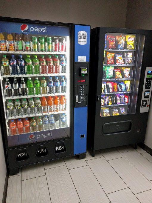 Comfort Inn Greenville SC - Vending machines