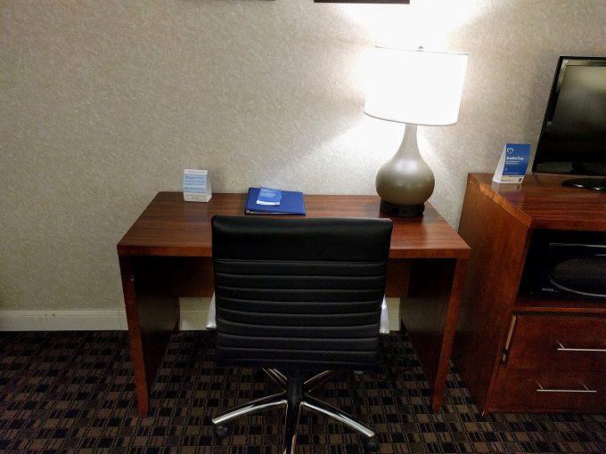 Comfort Inn Greenville SC - Work desk and office chair