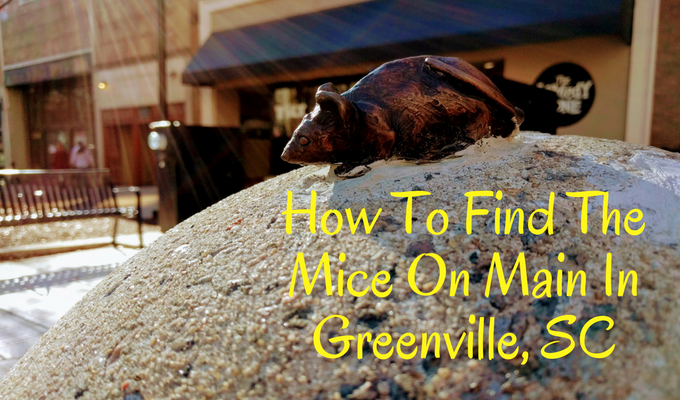 How To Find The Mice On Main In Greenville, SC