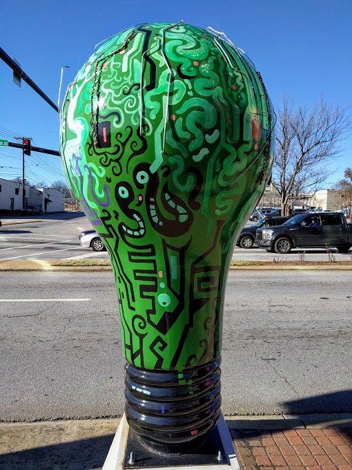 Lighten Up Spartanburg Incandescent System Bulb by Travis Galloway