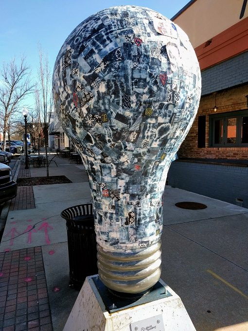 Lighten Up Spartanburg Indigo Blues For Hub City by Pat Kabore