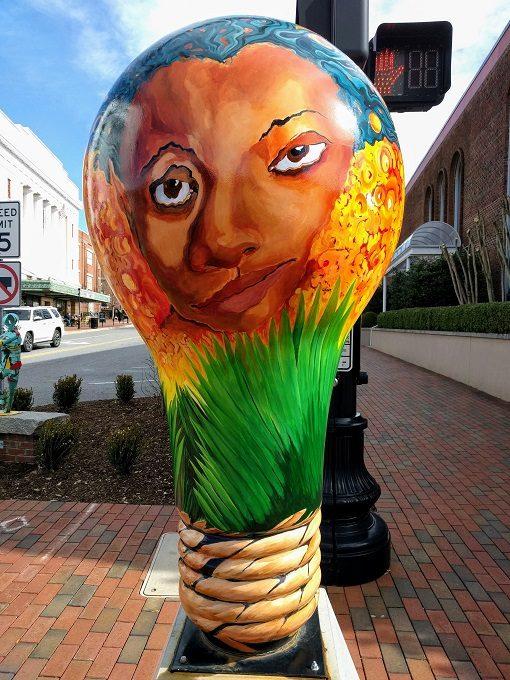 Lighten Up Spartanburg Mawu Sun-Light by Annette Giaco