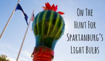 On The Hunt For Spartanburg's Light Bulbs