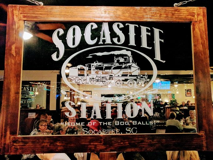 Socastee Station sign