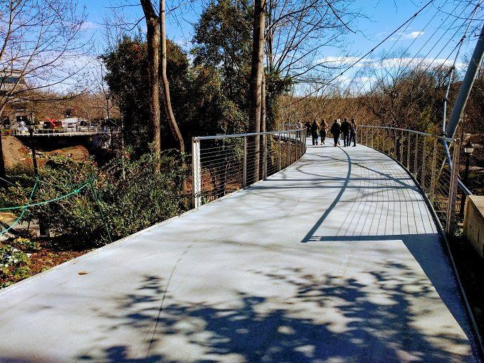 The Liberty Bridge at Falls Park On The Reedy