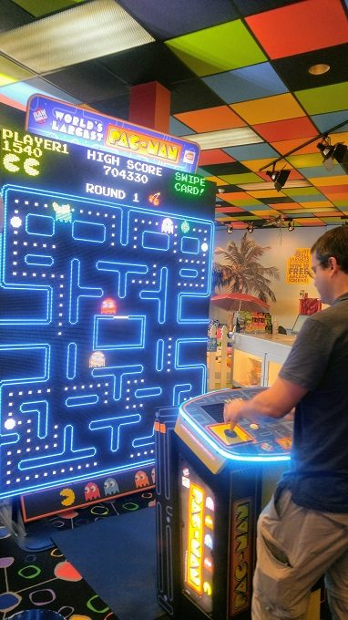 The world's largest game of Pac-Man
