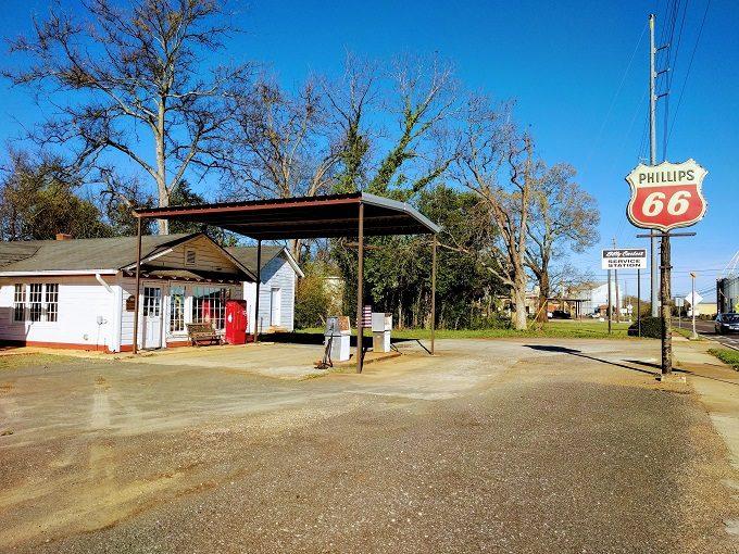Billy Carter Service Station Plains Georgia