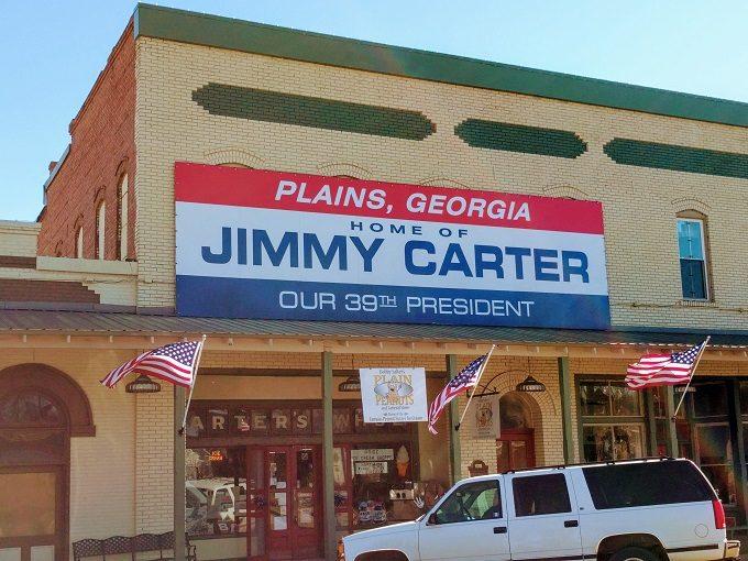 Plain Peanuts Store, Plains, Georgia