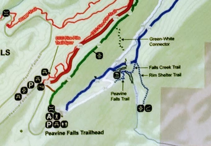 Visiting Peavine Falls In Oak Mountain State Park, Alabama - No Home ...