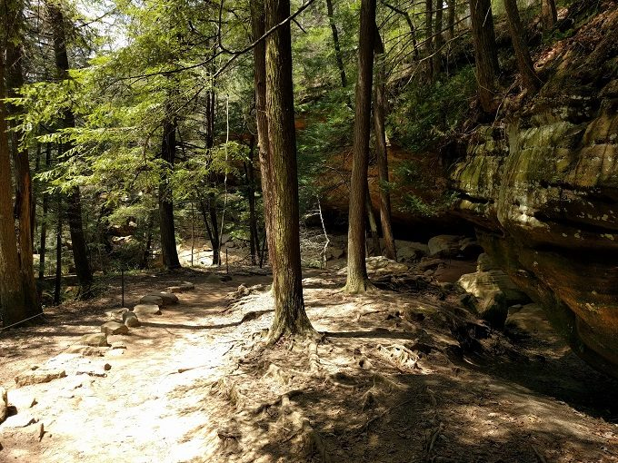 Man Cave Portsmouth : Visiting old man s cave in hocking hills state park ohio no