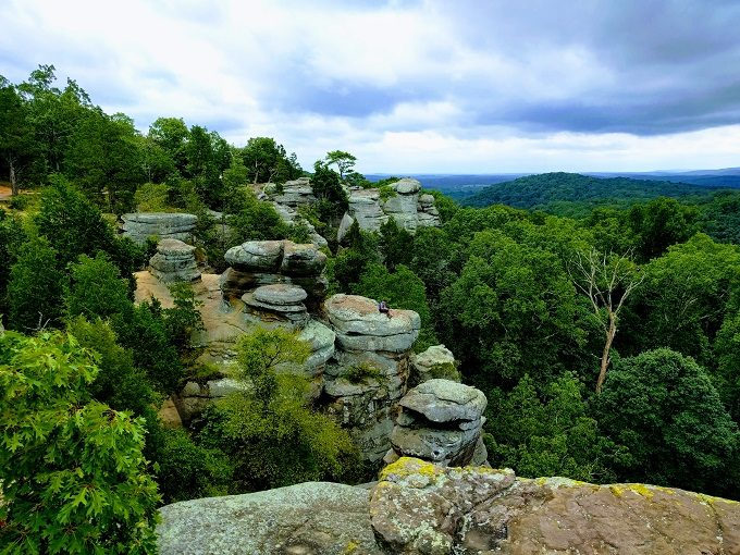 Visiting Garden Of The Gods More In Southern Illinois No Home Just Roam